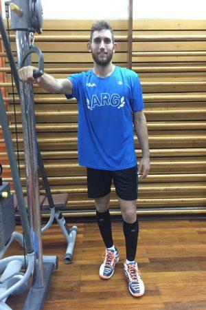 Alejandro Toro Ramella, Vóley, Selección Argentina